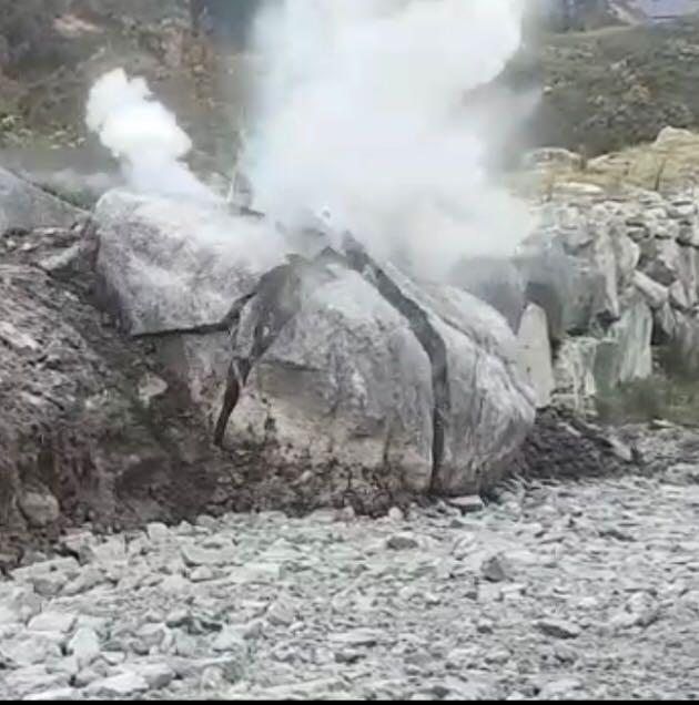 Royex secondary blasting