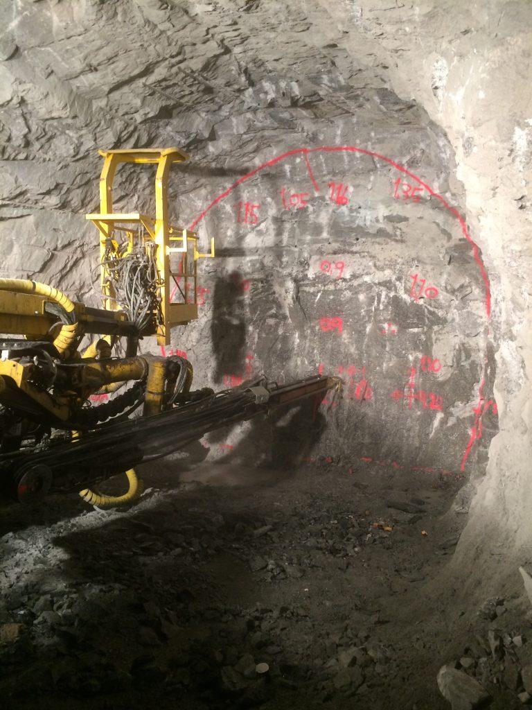 Royex tunnel development